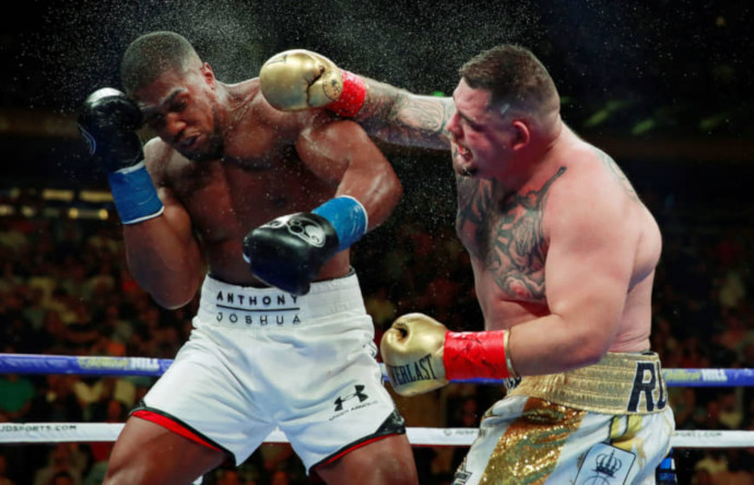 Anthony Joshua v Andy Ruiz Jr